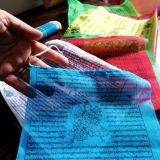 Bandiere Tibetane di Preghiera grandi - 22x21cotone