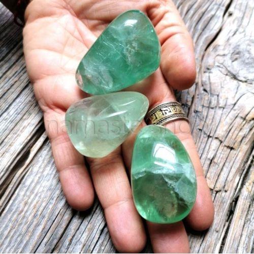 Fluorite Verde burattato grande
