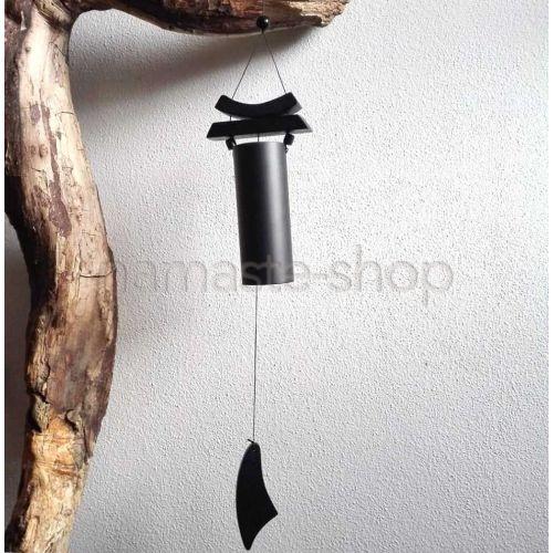 Campana a vento ZEN nera Feng Shui - 58cm