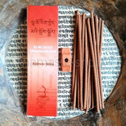 Incenso Tibetano KURU KULLE - Allevia lo Stress - Top Quality