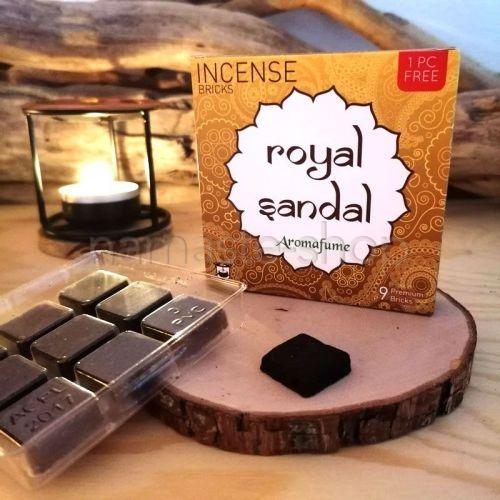 Mattoncini di Incenso SANDALO Royal Sandal - Aromafume