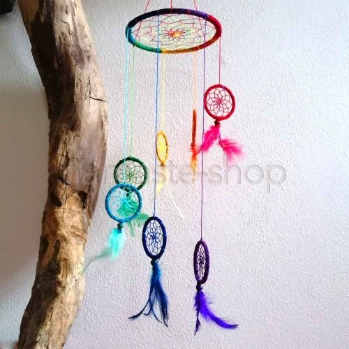 Acchiappasogni Sette Chakra - Dream Catcher