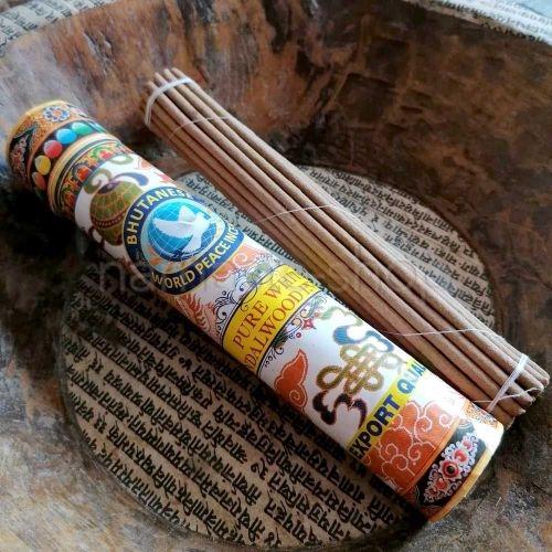 Incenso Bhutanese - SANDALO BIANCO - Pure White Sandalwood
