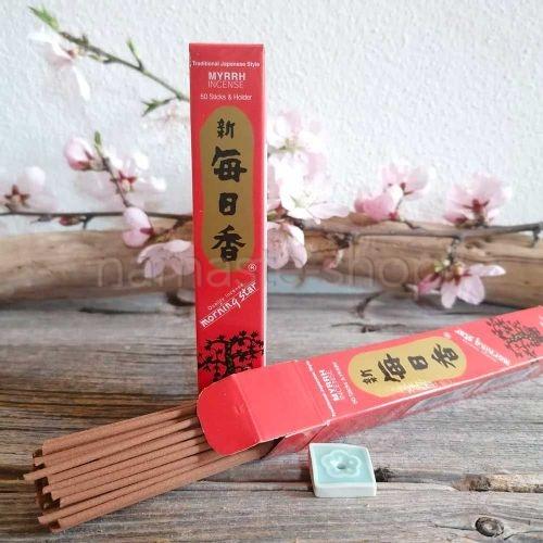 Incenso Giapponese MIRRA - Morning Star - Alta Qualità