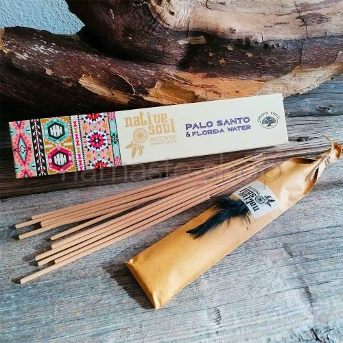 Incenso PALO SANTO e ACQUA SCIAMANICA FLORIDA - Native Soul