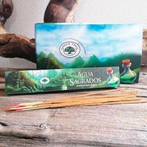 Incenso Premium Masala ACQUA SANTA - AGUA SAGRADOS - Green Tree