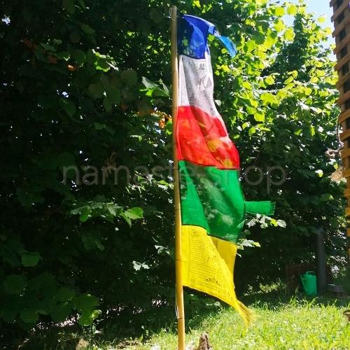 Bandiere Tibetane di Preghiera Verticali