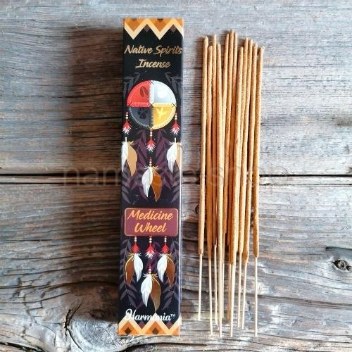 Incenso RUOTA DI MEDICINA - Medicine Wheel Native Spirits - Goloka