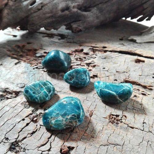 Apatite Blu burattato
