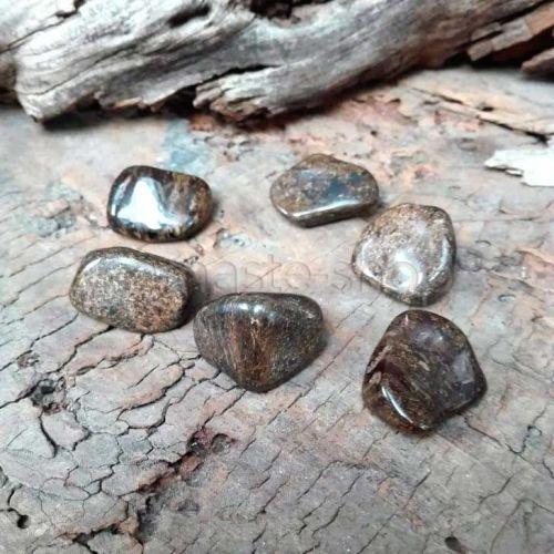 Bronzite burattato