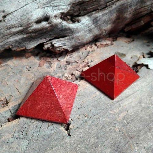 Piramide di Diaspro Rosso 3cm